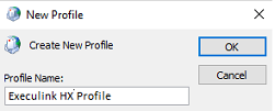 New Outlook Profile